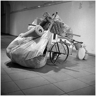 Carrito de basura