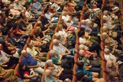 Cucuza Castiello inaugura el ciclo Entramados en el Teatro 25 de Mayo, CABA 20 de febrero de 2018. Foto: Paola Olari Ugrotte.-